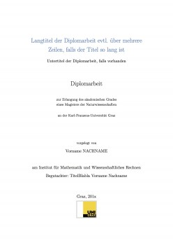 latex titelblatt dissertation vorlage